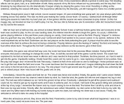 essay on experience in life my life experience essay examples kibin