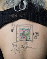Henri Matisses Sketch Tattoo Tattoogridnet