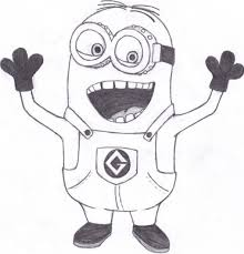 Small Picture Coloring Pages Happy Birthday From Minions Coloring Page For Kids