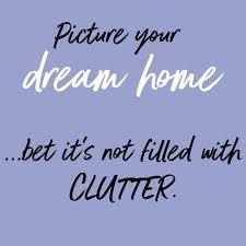 de clutter decluttering motivation salt lavender