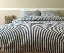 grey striped duvet cover sweetgalas with regard to amazing home pinstripe duvet cover decor