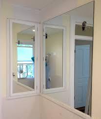 Recessed Bathroom Medicine Cabinets Bathroom Recessed Mirrored Medicine Cabinets For Bathrooms