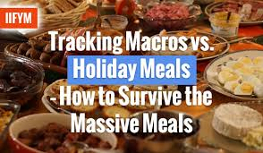 Meal Tracking Tracking Macros Vs Holiday Meals How To Survive The