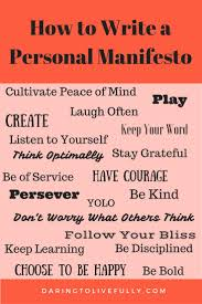 17 best ideas about core values matthew bible life a personal manifesto is a declaration of your core values and beliefs here s how to