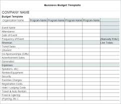 Free Worksheets Library Download And Print Budget Template Marketing