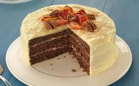 Cinnamon And Orange Carrot Cake Recipe Bake With Stork