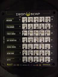 Crossover Symmetry Iron Scap Chart Pin On Fitness