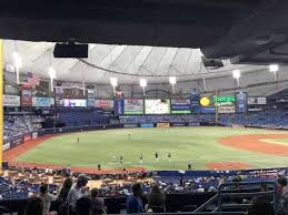 Tropicana Field Section 129 Home Of Tampa Bay Rays