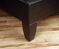 Alerion Platform Bed- Foot Corner Detail