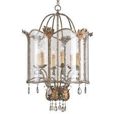 currey and company lighting fixtures. Currey Light Fixtures - 9388 Zara Pendant, Large Wrought Iron/Glass/Crystal; \u0026 Company Lighting And