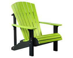 lime green patio furniture. deluxeadirondackchairlimegreenu0026black lime green patio furniture