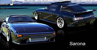 mazda rx7 1985 custom. mazda rx7 sarona body kit mz018kt rx7 1985 custom v