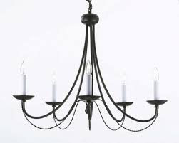 full size of living outstanding vintage wrought iron chandelier 4 recent rustic lighting within vintage black