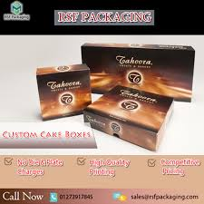 Cake Boxes Printed Cake Boxes Sustainable Packaging Exact Viral