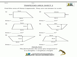 Perimeter And Area Worksheets | 3Rd, 4Th, 5Th Grade ...