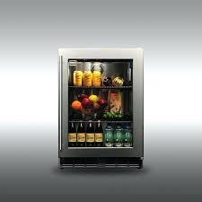 signature in glass fridge outdoor gourmet signature inch outdoor refrigerator with glass door outdoor beverage refrigerator