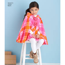 Childs Cape Pattern Extraordinary S48 Child's Poncho Pattern Jaycottscouk Sewing Supplies