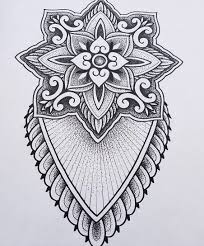 Red Baron Ink Tattoo Beautiful Mandala Available To Be Tattooed By