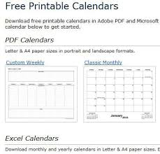 custom calendar templates basic calendars and calendar creation tools