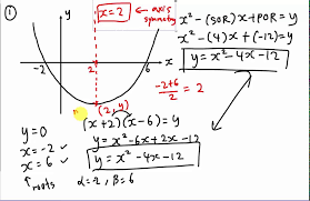 how to find the equation of curve quadratic chapter