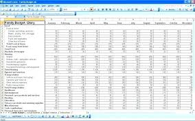 Sample Of Family Budget Sample Budget Excel Travel Budget Template Excel Sample Family