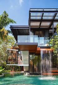 best modern home designs. container house - modern home with a waterfall who else wants simple step-by-step plans to design and build from scratch? best designs