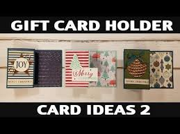 Gift cards , opens another site in a new window that may not meet accessibility guidelines. Stamping Jill Gift Card Holder Card Ideas 2 Youtube Gift Card Holder Gift Cards Money Gift Card Holder Diy