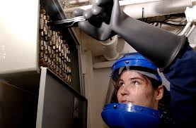 file us navy 041228 n 7405p 004 fireman alexis damron pulls a file us navy 041228 n 7405p 004 fireman alexis damron pulls a