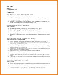 5 Sr Accountant Resume Phoenix Officeaz