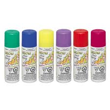 DG Party Neon Hair Color Spray, Assorted