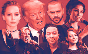 p while the 2016 presidential election got heated a href celebrities speak out post election