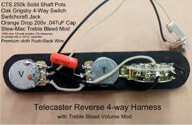 telecaster 4 way wiring kit solidfonts rothstein guitars serious tone for the player