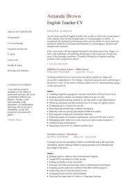 ... Academic Cv Template Curriculum Vitae Academic Cvs Student English  Resume Template