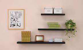 Image of: Decorative Bathroom Shelving