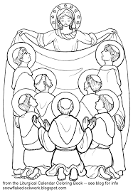 Small Picture All Saints Coloring Pages Coloring Home