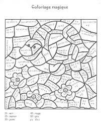 Coloriage Magique Ce2 Multiplication