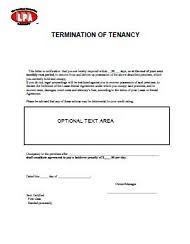 termination of tenancy notice eviction notice at essential landlord rental forms page with apartment lease rental termination letter to tenant