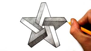 How To Draw A Star Design How To Draw An Impossible Star