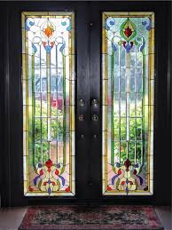 stained glass for doors gallery