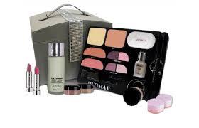 revlon ultima ii 3 piece kit powder mascara lipstick sparkling bordeaux