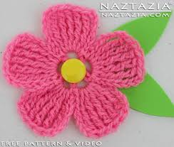 Crochet Flower Pattern Fascinating Crochet Large And Small Flower Nice And Flat For A Hat Scarf Shawl