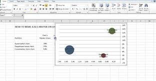 Using Excel To Make A Bcg Matrix