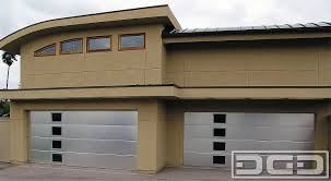 dynamic garage doorsContemporary 06  Custom Architectural Garage Door  Dynamic