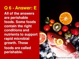 food and safety test answers Test Your Summer Food Safety Savvy (quiz) ... 19.