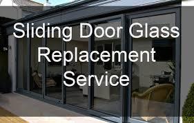 sliding door glass replacement