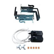 liftmaster chamberlain craftsman garage door safety sensor eyes 41a4373a used