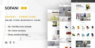 Sofani Furniture Store Woo merce WordPress Theme by YoloTheme