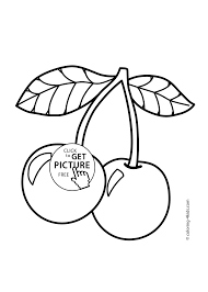Printable Fruit Coloring Pages Get This Online 55459 Within Napisy