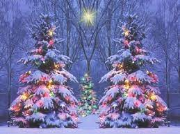 Snowy Christmas Scenes Wallpapers ...