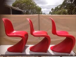 replica verner panton chair furniture gumtree australia free